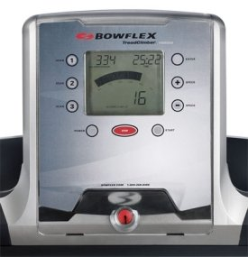 bowflex treadclimber consule